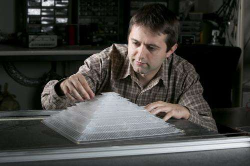 Acoustic cloaking device hides objects from sound
