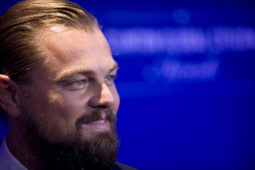 Actor Leonardo DiCaprio, who is reportedly among those planning to take the Virgin Galactic's first wave, in New York September