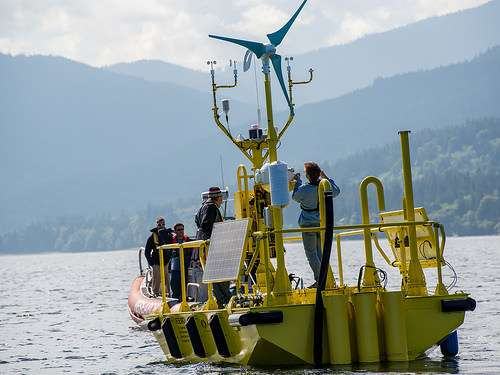 Advanced buoys bring vital data to untapped energy resource