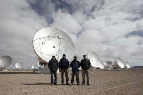 ALMA upgrade to supercharge Event Horizon Telescope, astronomy's 'killer app'