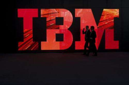 """Apple and IBM unveiled a """"landmark"""" partnership to win over business customers by offering iPhones and iPads that are"""