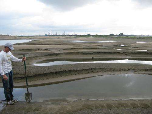 Centuries of sand to grow Mississippi Delta
