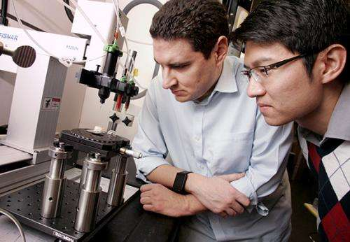 Contact lens merges plastics and active electronics via 3-D printing