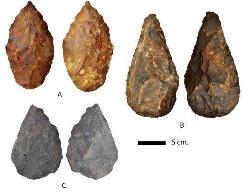 Earlier Stone Age artifacts found in Northern Cape of South Africa