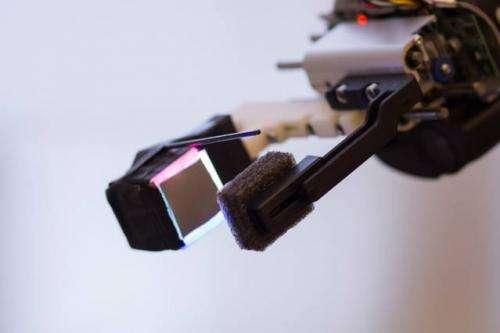 Fingertip sensor gives robot unprecedented dexterity