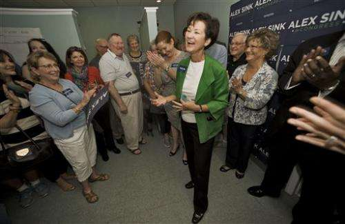 Florida election a test for Obama health care law