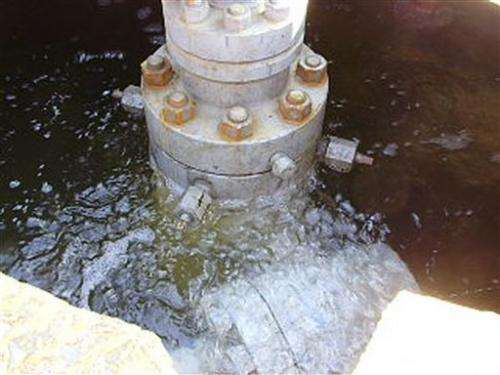 Fracking study finds new gas wells leak more
