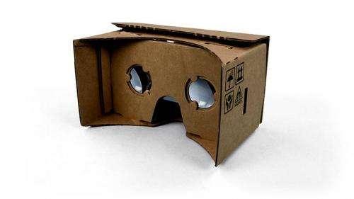 Google offers Cardboard path to virtual reality