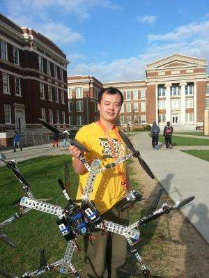 HorseFly 'octocopter' primed to fly the future to your front door