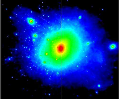 Interactive dark matter could explain Milky Way's missing satellite galaxies