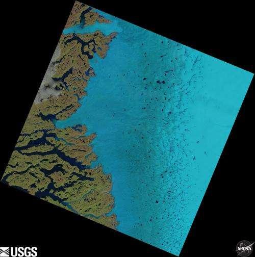 Migrating 'supraglacial' lakes could trigger future Greenland ice loss