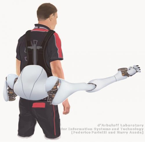 MIT lab designs workload-sharing robotic limbs  (w/ Video)