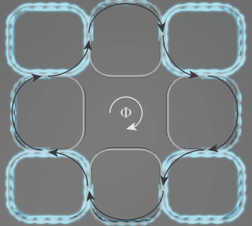 On-chip topological light