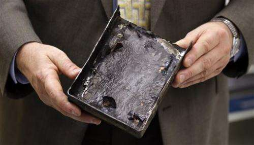 Report: FAA too reliant on Boeing for battery test