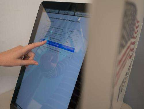 Rice team sets sights on better voting machine