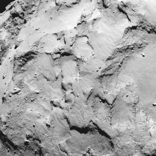Rosetta's lander Philae will target Site J