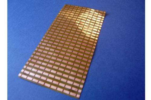 Smaller artificial magnetic conductors allow for more compact antenna hardware