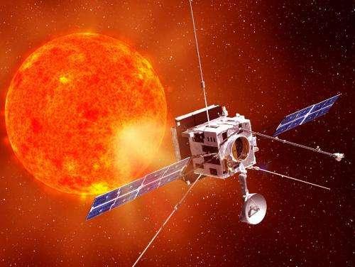 Solar orbiter's shield takes sun's heat