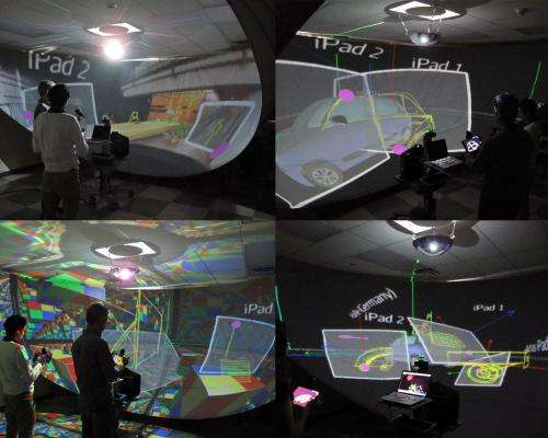 Spectacular 3-D sketching system revolutionizes design interaction and collaboration