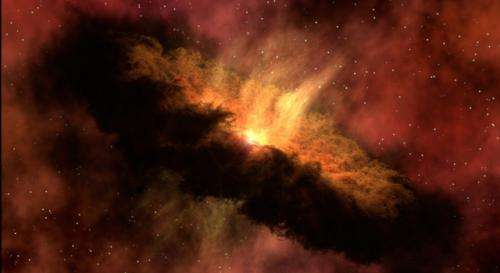 Titan's building blocks might pre-date Saturn
