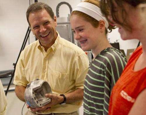 WHACK! Study measures head blows in girls' lacrosse