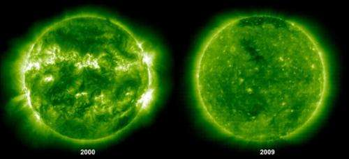 Why is the sun going quiet?