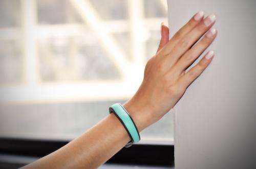 Wristband uses encryption to grant access to devices