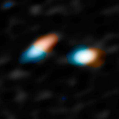 Young binary star system may form planets with weird and wild orbits