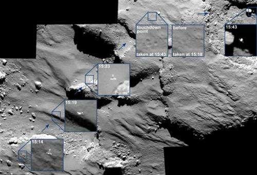 Scientists 'confident' comet lander will wake up