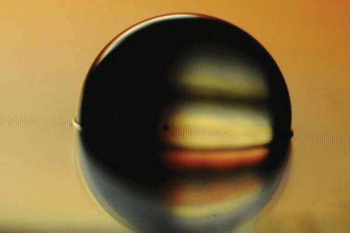 Researchers develop treated surfaces that can actively control how fluids or particles move