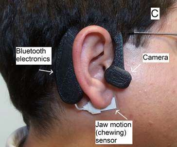 Researcher developing wearable device to track diet