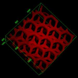 Liver-like device, via 3-D printer