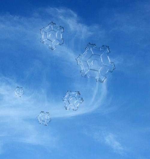 Researchers develop technique to understand how tiny atmospheric particles change elusive ice clouds