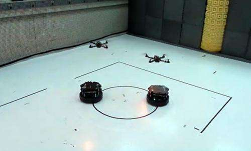 Researchers discover way to coordinate different types of robots