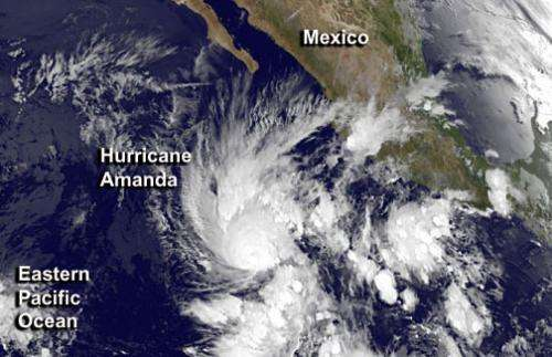 Eastern Pacific season off with a bang: Amanda is first major hurricane