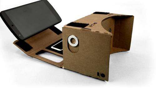 Google offers Cardboard path to virtual reality