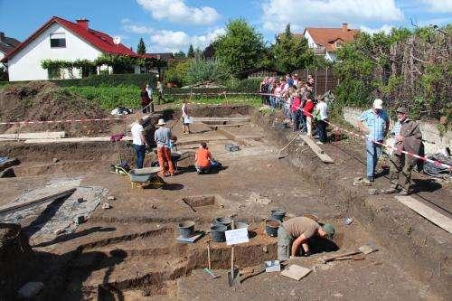 Long lost Roman fort discovered in Gernsheim
