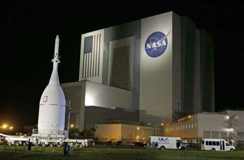 NASA launching new Orion spacecraft on test flight