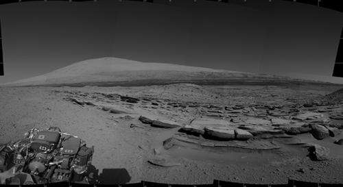 NASA Mars rover finds sandstone variations
