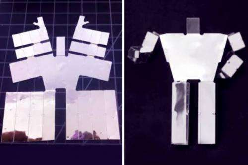 New algorithms and electronic components could enable printable robots that self-assemble when heated