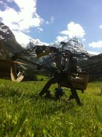Robots to save lives in calamity situations in the Alps