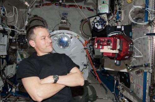 Space Station SPHERES Run Circles Around Ordinary Satellites