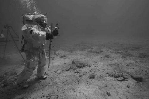 Underwater return for Andreas and Thomas