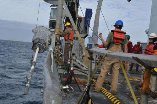 Warmer Pacific Ocean could release millions of tons of seafloor methane