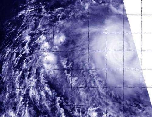 NASA's Aqua satellite sees Tropical Cyclone Kate in open ocean