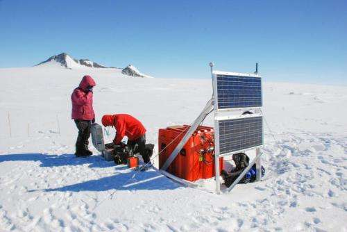 2010 Chilean earthquake causes icequakes in Antarctica