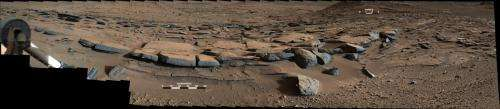 Curiosity rover finds clues to how water helped shape Martian landscape