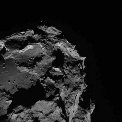 Image: Rosetta's comet looms