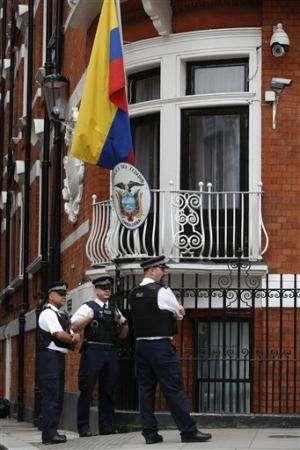 Julian Assange marks 2nd year in Ecuador's embassy
