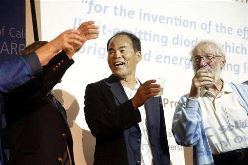 LED there be light: 3 share Nobel for blue diode
